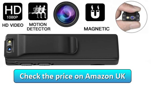 Mini Spy Cameras Hidden,DEXILIO - Check the price on Amazon UK