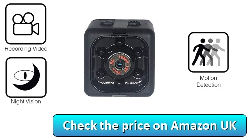 Mini Spy Cameras by Generic - Check the price on Amazon UK